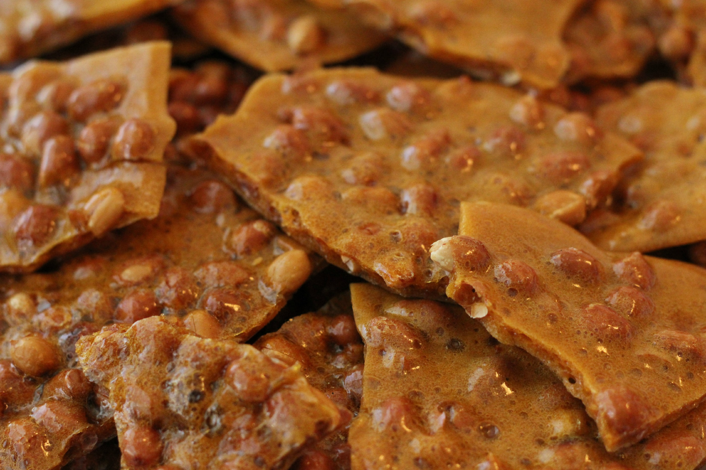 Peanut Brittle (light, crispy, & oh so good)