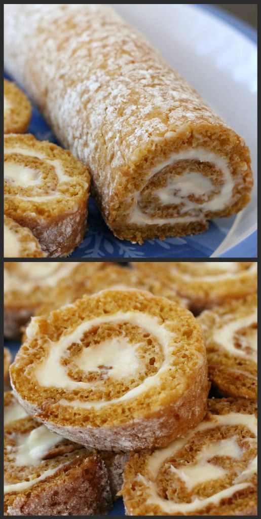 Pumpkin Roll Recipe.... yum!