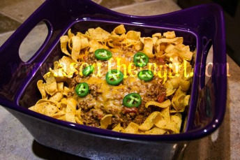 Frito Chili Pie Casserole Recipe... so easy and so good.