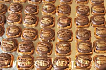 Chocolate Caramel Pecan Pretzel