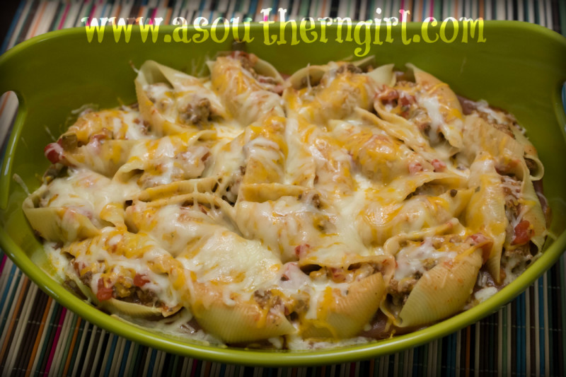 TexMex Shells and Cheese