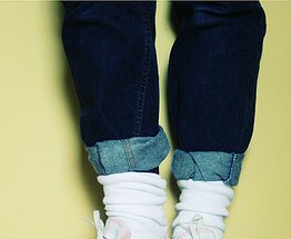 Rolled-Up-Jeans